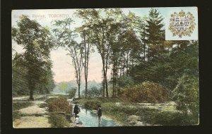Canada Postmark 1908 Craig Vale Ont Rosedale Ravine Toronto Private Postcard