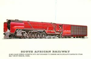 South African Railway Locomotives history 42-inch Gauge Express Locomotive