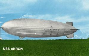 USS Akron Dirigible, 1931-1981