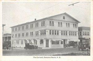 LPS99 Hampton Beach New Hampshire The Garland Vintage Postcard
