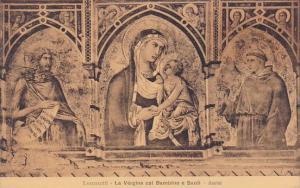 Italy Assisi Perugia Lorenzetti La Vergine Col Bambino E Santi