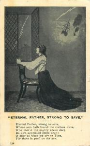 Eternal Fathers strong to save woman pray for those in peril on the sea 1905