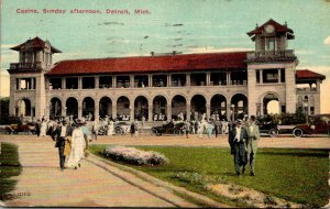 Michigan Detroit The Casino On Sunday Afternoon 1913