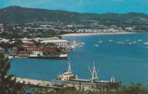 Bird's Eye View of Christiansted, St. Croix, U.S.Virgin Islands, Antilles, 40...