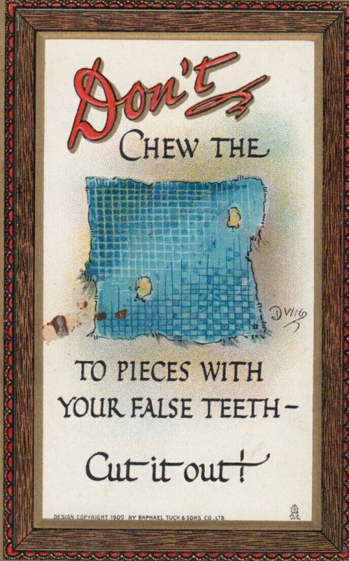 DWIG, Don't Chew...comic , 00-10s ; TUCK 165