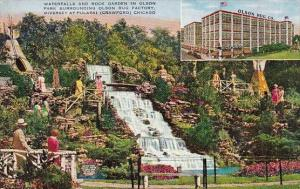 Illinois Chicago Waterfalls and Rock Garden Olson Rug Company