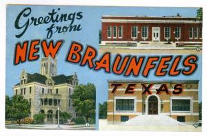 Grand Rapids, Michigan to Gloversville, New York 1946 Greetings Postcard
