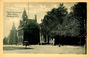 Canada - Nova Scotia, Amherst. Courthouse and Post Office