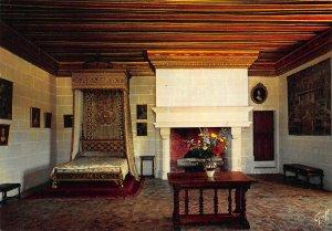 France Les Chateaux de la Loire Chenonceau Chambre Gabrielle d'Estrees Postcard