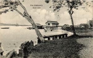 INDONESIA PC DUTCH INDIES - Palembang - Sumatra - Moesi-rivier (a1577)