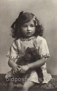 Girl with Monkey Children, Child, Unused