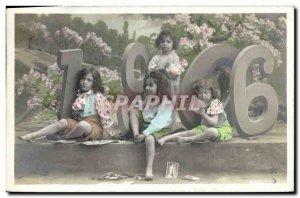 Old Postcard Fantasy Children Year 1906