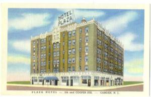 Plaza Hotel, 5th and Cooper Sts. Camden, New Jersey, NJ, Linen