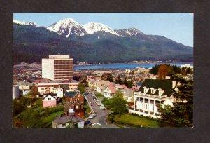 AK Federal Bldg. Governor's Mansion City Skyline View Juneau Alaska Postcard