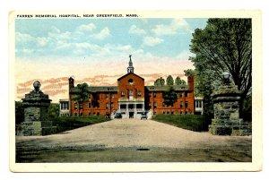 MA - Greenfield. Farren Memorial Hospital