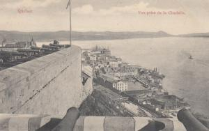 QUEBEC, Canada, 1900-10s; Vue prise de la Citadelle