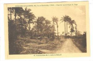 Construction de la route de Kabure, Togo, 00-10s