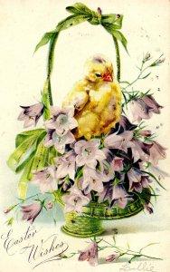 Greeting - Easter      (glitter)   Tuck