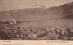 Air view, Mt.Begbie and part of Revelstoke,B.C.Canada,00-10s