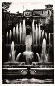 CPA TIVOLI Fontana dell'organo idraulico ITALY (545485)