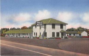 Victoria Texas Linden Hill Motel Antique Postcard J52571