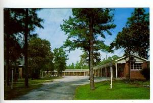 West Columbia SC Travelers Motel Postcard