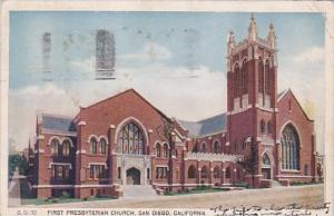 First Presbyterian Church San Diego California 1930