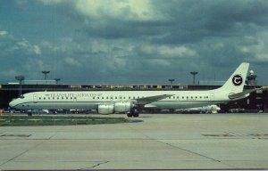 Transkift Airways Douglas DC-8-71 At Orly Airport Paris France