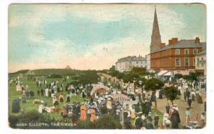 Silloth , Cumbria , England, PU-1913, Tents on The Green