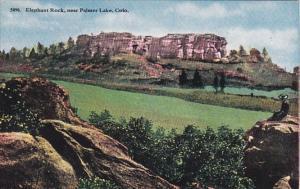 Colorado Elephant Rock Near Palmer Lake