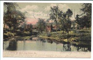 East Auburn, ME - Bobbin Mill Brook - 1906