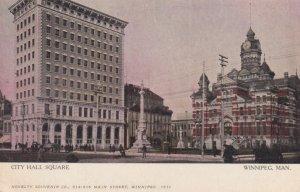 Winnipeg , Manitoba , Canada , 00-10s ; City Hall Square