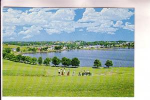 Harbour and Town of Lunenburg, Nova Scotia, Len Leiffer