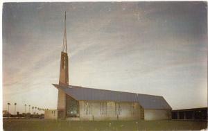 The new and modern St. Paul Lutheran Church, McAllen, Texas, unused Postcard