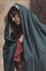 Actress Martha Veit as Maria Passionsspiele Oberammergau theatre 1922 postcard
