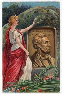 Abraham Lincoln, 1908 - 1865