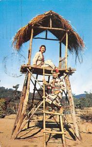 Taiwan China Aborigine Maids in native Village Taiwan Aborigine Maids in nati...