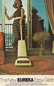 ADV: 1950-60s; The New Eureka Easy Glide, Vacuum