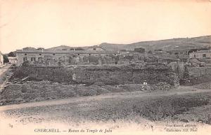 Cherchell Algeria, Alger, Algerie Ruines du Temple de Juba Cherchell Ruines d...