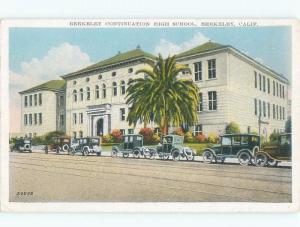 W-Border HIGH SCHOOL SCENE Berkeley California CA E2361