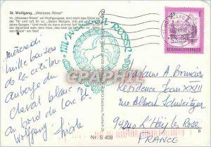 Modern Postcard St Wolfgang Weisses Rossl im Weissen Rossi