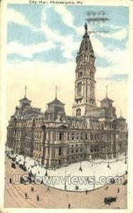 City Hall, Philadelphia Philadelphia PA 1920