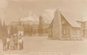 RP: Battle Axe Inn & Mt Hood , Oregon , 1920s