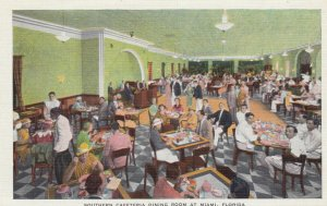 MIAMI , Florida , 1930-40s ; Southern Cafeteria Dining Room