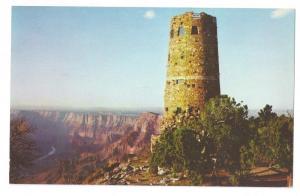 Grand Canyon Watch Tower Arizona AZ Fred Harvey Chrome