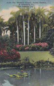 Florida St Petersburg Sunken Gardens The Wedding Chapel Curteich