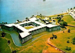 Florida St Augustine Aerial View Castillo San Marcos National Monument