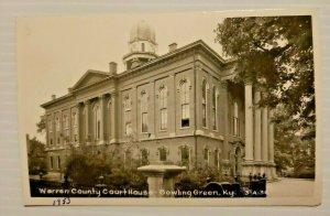 Warren County Courthouse Bowling Green Kentucky 1953 Photo Postcard   563