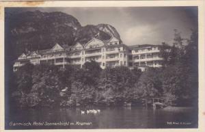 RP; Garmisch, Hotel Sonnenbichl m. Kramer, Bavaria, Germany, 10-20s