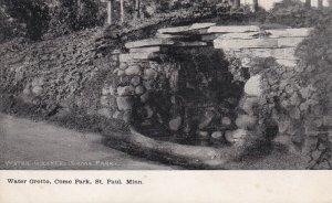ST. PAUL, Minnesota, PU-1908; Water Grotto, Como Park